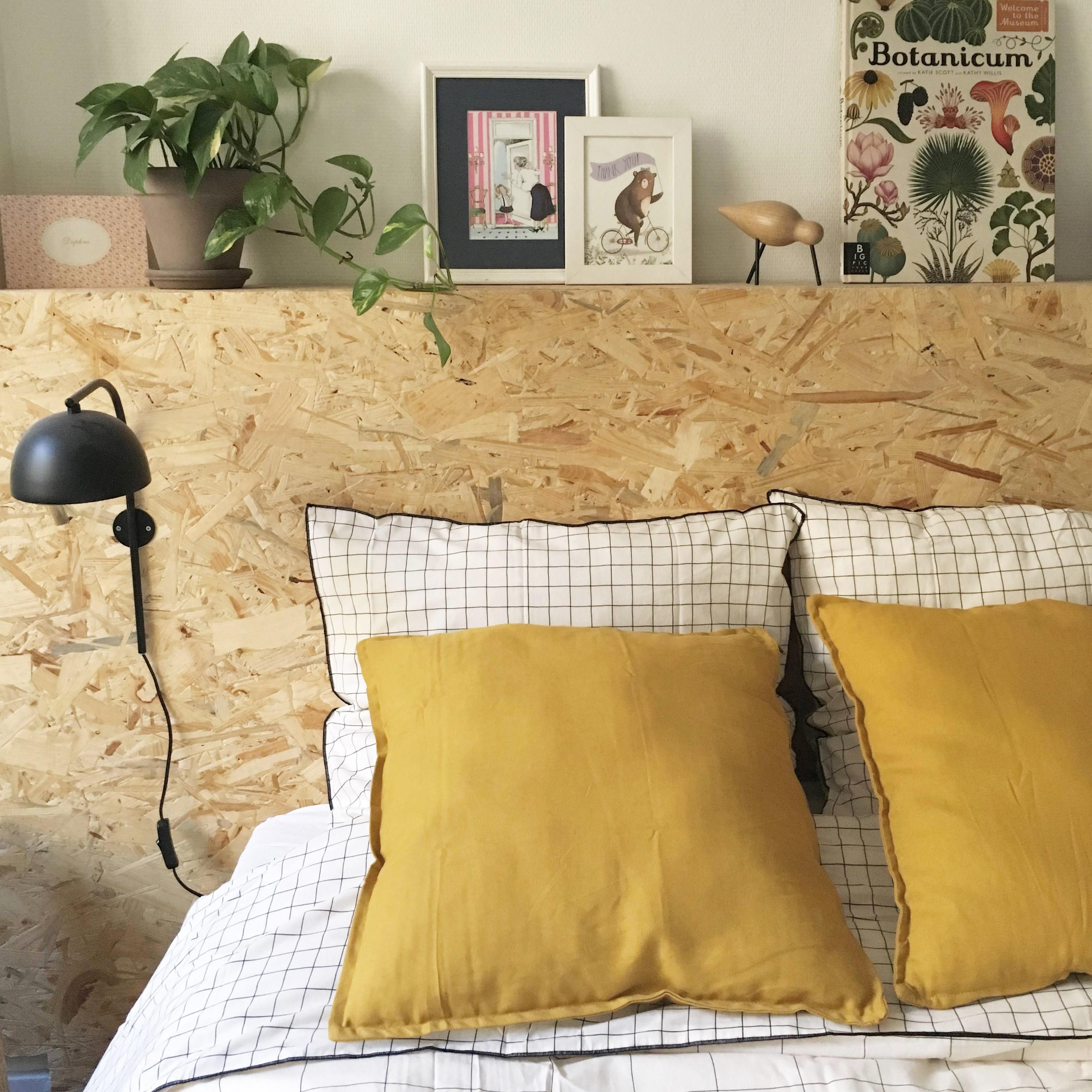 Tête de lit DIY OSB