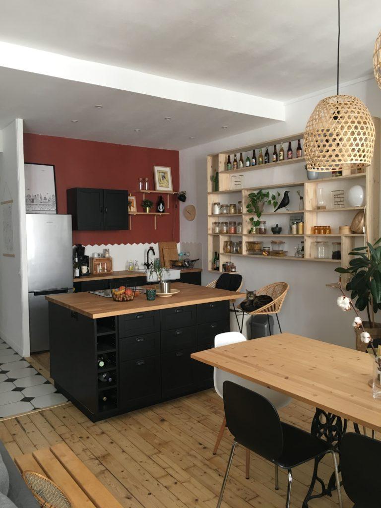 Choix De Peinture Cuisine comment décorer et aménager une cuisine ouverte sur le séjour ?