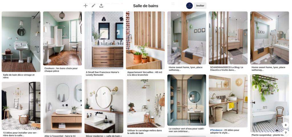 Inspiration Les Plus Belles Salles De Bains Reperees Sur Pinterest
