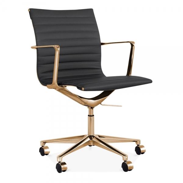 Chaise de bureau à dossier bas
