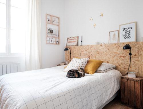 Avant/Après : rénovation d'une chambre à moindre coût