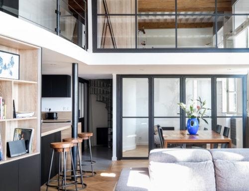 Avant/Après : rénovation d'un appartement canuts à Lyon