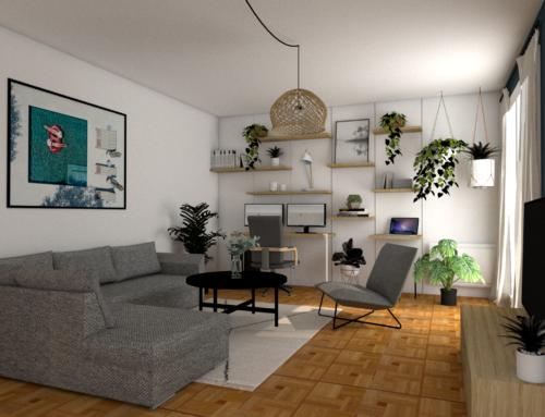 Bureau à crémaillère : comment intégrer un bureau déco dans votre salon à moindre coût ?
